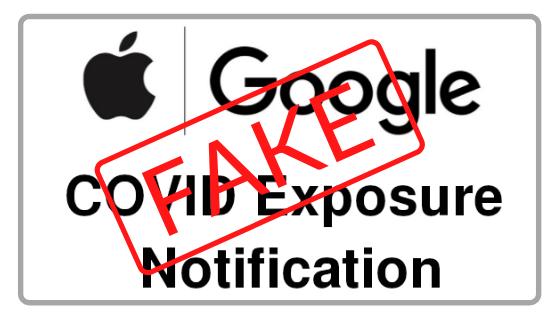 Apple Google Covid Exposure Notification